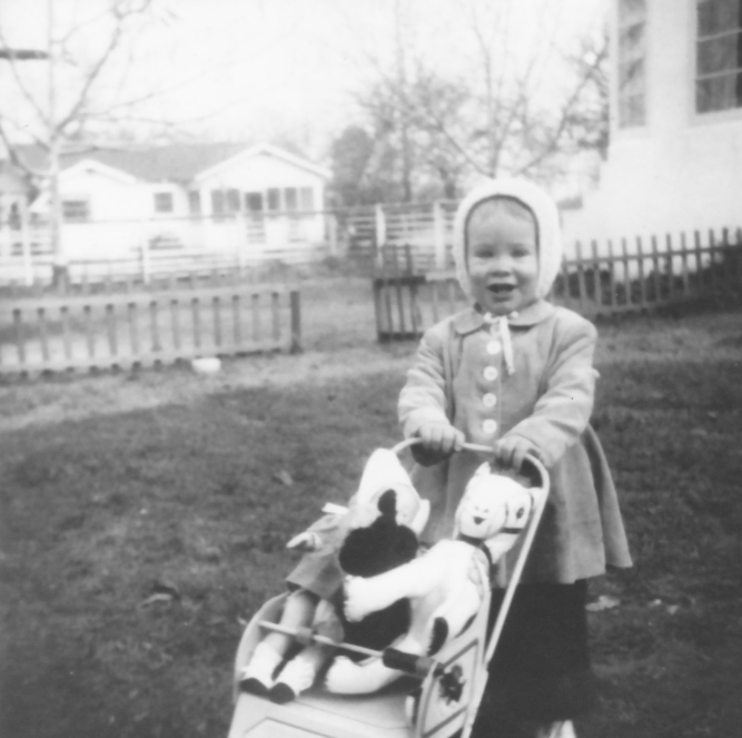 Mary Blake about 2 years old