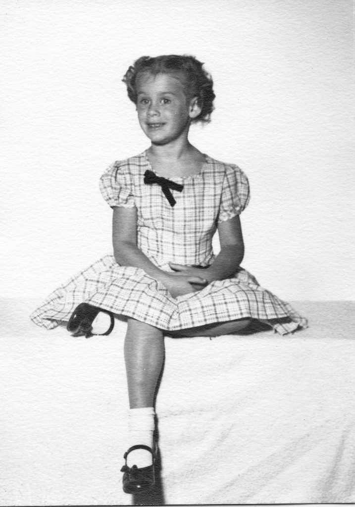 Mary Blake about 6 years old